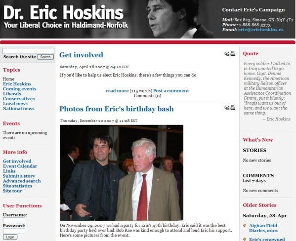 hoskins campaign large