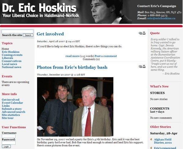 hoskins campaign large
