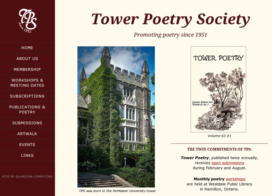 tower poetry large