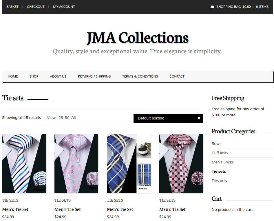 jma collections large